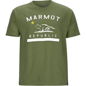 Marmot Republic - T-shirt manches courtes Homme - olive